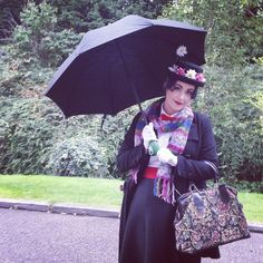 Wish I could just dress up for  living lol was soooo fun being Mary Poppins at my friends 'book character' theme party. Nor exactly screen acurate bur I had little time/funds to prepare but think I pulled it off pretty well with what I had :) #MaryPoppins #Cosplay #Disney #DisneyObsessed #DressUp #Fun #Disneybound