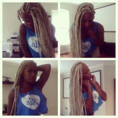 blonde box braids - Google Search