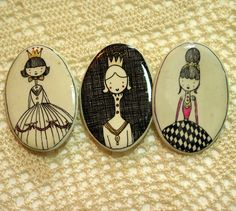 Brooches by Manitas de plata