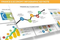 Finance Infographic Keynote by SlideFactory on @creativemarket