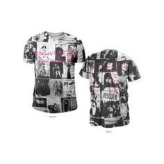 Rolling Stones Exile Mens AO Print Tee - This Rolling Stones Exile Mens AO Print T-Shirt is covered in artwork from their 1972 album, Exile on Main Street.