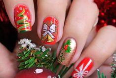 60+ Best Christmas Nail Art Ideas - YeahMag