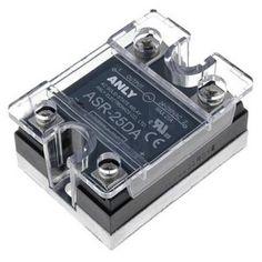 Releu Static Monofazat 90A / 24-280 VAC ASR-90DA Anly