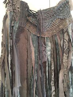 Falda rota elfos falda festival cypsy falda boho por RAWRAGSbyPK