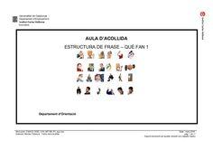 Caaco dos by mtalaverxtec via slideshare Catalan Language, Fan, Teaching, Ideas, School, Frases, Reading Comprehension, Writing, Classroom