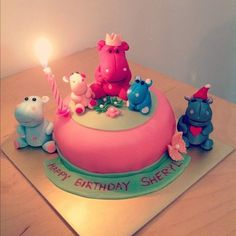 Life is too short, Eat Desserts: Hippo Cake