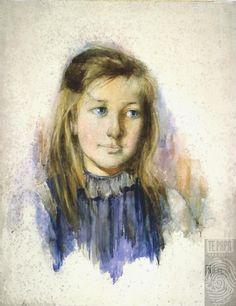 The girl with flaxen hair - Hodgkins, Frances 1893 Alice Blue, Venice Biennale, Post Impressionism, First Art, Contemporary Artwork, Public Art, Female Art, New Art, Art History
