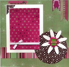 12x12 Premade Scrapbook Page - Proud To Be A Girl Scout