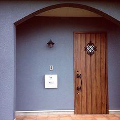 The Best Minimalist Door Design Future House, My House, Main Door, Exterior Paint Colors, Entrance Doors, Door Design, Wall Colors, Building A House, New Homes