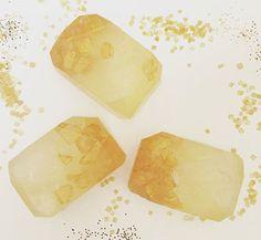 yuzu ginger fairy crystal soap
