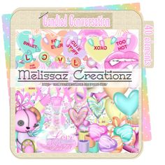 Melissaz Creationz: Candied Conversation Kit (Valentine's Themed)