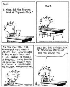 haha Love Calvin & Hobbes