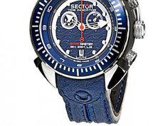 Relógio Masculino Sector Shark Master - Analógico Resistente á Água com as melhores condições você encontra no Magazine Dufrom. Confira!