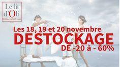 Stockverkoop Le lit d'Oli -- Wavre -- 18/11-20/11