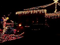 Merry Christmas baby by Hanson - LIGHT SHOW :)