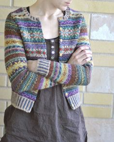 pattern 'Orkney' by Marie Wallin and knitted in Rowan Felted Tweed DK Ravelry.com