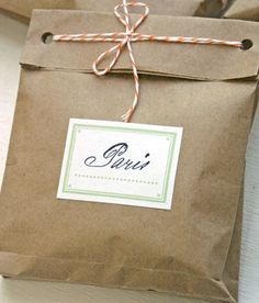 Brown paper packages tied up with string...this site has a few of my favorite ways to wrap presents.