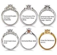 Disney Princess Wedding Rings!