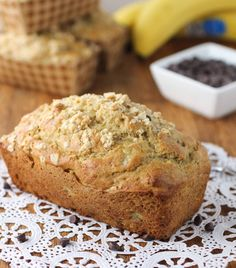 Healthy, Whole Wheat, Vegan Banana Bread made without oil or butter. A versatile, basic recipe that uses wholesome, natural ingredients!