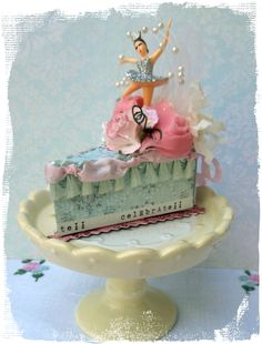 Over the Rainebeau  Tiny Ballerina  Cake Box