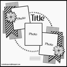 Simple Scrapbook Layouts - CLICK PIC for Various Scrapbooking Ideas. 87673782 #scrapbook #diycrafts