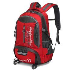 3bfeac4009 35L Waterproof Tactical Backpack Hiking Bag Men Women Sports Bag Cycling  Climbing Backpack Laptop Rucksack Travel