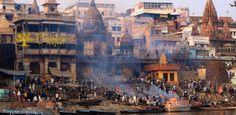Ciudad Sagrada de Benarés, India