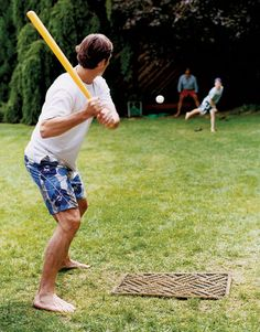 hours of backyard wiffle ball until the sun goes down