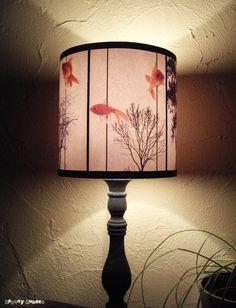 Abat jour Fish Carousel éclairage lampe déco par SpookyShades