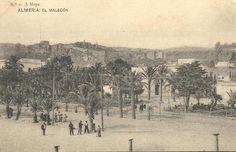 El Malecón (Almería). Año 1910. Fotografía de J. Moya