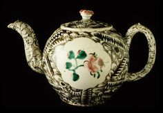 Salt-glazed Teapot c. 1730-70 England