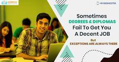 Have a Degree or Diploma, but no #job? Make a smart #career choice at Karmick Institute. Dial: 098364 23755 #Kolkata #Education #Career