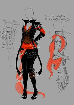Custom Outfit - 2 by LotusLumino on DeviantArt