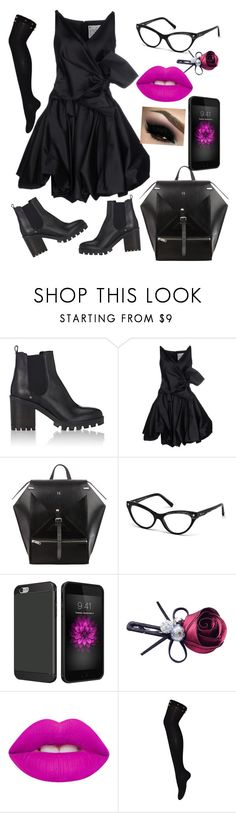 """chelsea boots"" by bimbamonella78 ❤ liked on Polyvore featuring Barneys New York, Dsquared2, Chicnova Fashion and Lime Crime"