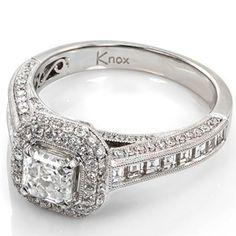 bling bling engagement ring