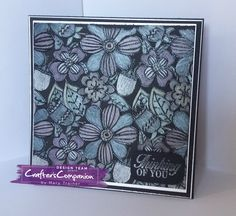 Tent Card created using COLORISTA DARKS COLOURING PADS & SN METALLIC PENCILS Created by Mary Trainer @crafterscompanion