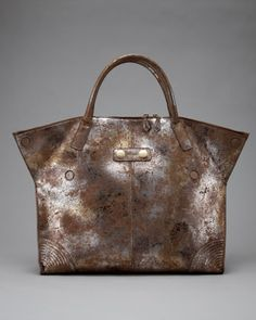 Alexander McQueen Faithful De-Manta Tote, Large - Neiman Marcus