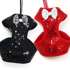 EasyGo Sequins ALL-IN-ONE Dog Harness Vest & Leash