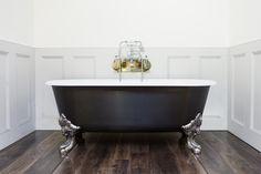 Blenheim Bath Wrapped in Carbon Fibre design | Chadder & Co.
