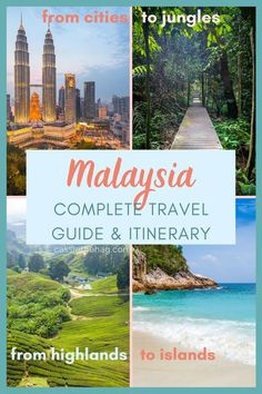 Malaysia Itinerary, Malaysia Travel, Asia Travel, Malaysia Trip, Travel Route, Places To Travel, Travel Destinations, Places To Visit, Packing List For Travel