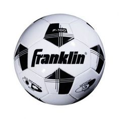 Franklin® Sports Competition 100 Soccer Ball in White/Black Soccer Shoes, Football Fans, Soccer Ball, Competition, The 100, Balls, Sports, Street, February