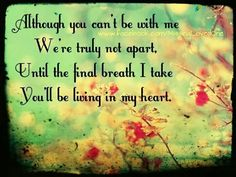 Until my final breath... Always!