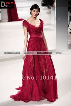 elie saab evening gowns - Google Search Evening Dresses, Formal Dresses, Elie Saab, Custom Made, Cool Style, Fashion Dresses, Chiffon, Google Search, Red