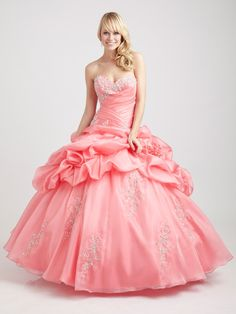 Cheap Exclusive Ball Gown Sweetheart Floor-length Quinceanera Dress - New Quinceanera Dresses