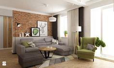 dom ok 100m2 metamorfoza - Salon, styl nowoczesny - zdjęcie od Grafika i Projekt architektura wnętrz