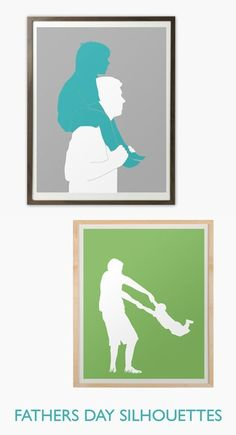 Custom silhouette portrait  giclee print by happythought on Etsy, $77.00