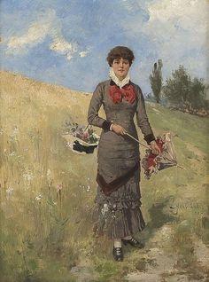 ~ Axel Hjalmar Ender ~ Norwegian artist, 1853-1920