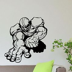 Wall Decal Vinyl Sticker Gym Sport Rugby American Football Player Decor Sb606 ElegantWallDecals http://www.amazon.com/dp/B0120B7Z04/ref=cm_sw_r_pi_dp_tDYWvb1RDNBNS