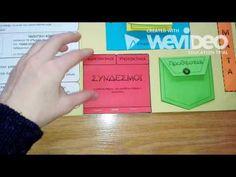 Μια τάξη...μα ποια τάξη;: Ολη η Γραμματική σε ένα Lapbook! Special Education, Grammar, Numbers, About Me Blog, Teaching, Future, School, Future Tense, Schools