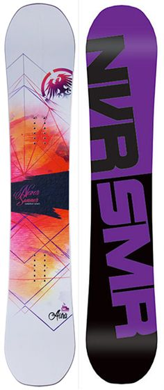 Never Summer Aura Snowboard - Women's Snowboards - Women's Snowboarding - Winter 2015/2016 - Christy Sports